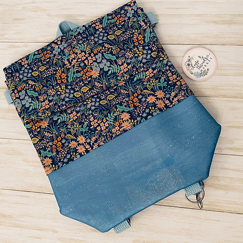 The Daydreamer in Blue Floral