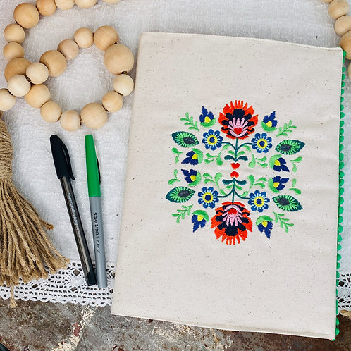 Fiesta Floral Composition Notebook Holder