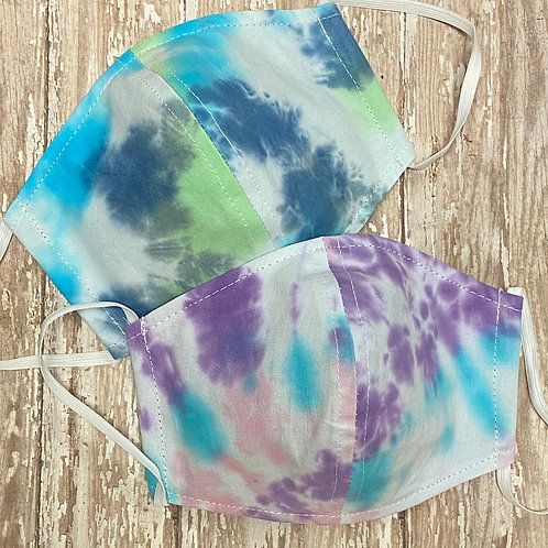 Tie Dye Cup Face Mask