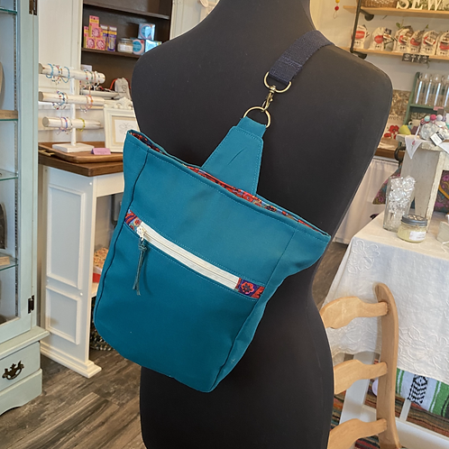The Daphne Sling in Teal