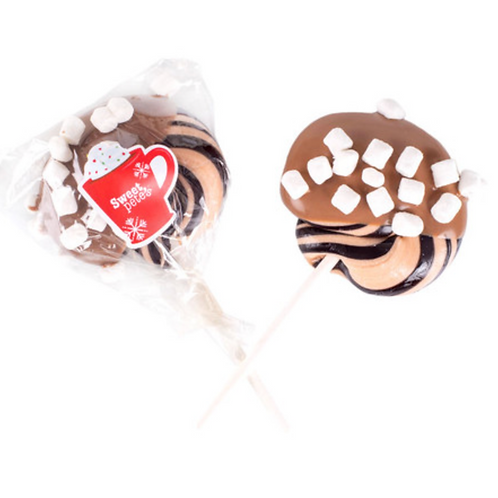 Hot Cocoa Chocolate Dipped Lollipop