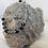Thumbnail: Black Cloisonné Silver Plated Rosary Bracelet