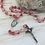 Thumbnail: Murano Glass Bead Rosary with Miraculous Center