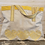 Thumbnail: Embroidered Shoulder Bag in Yellow Hearts