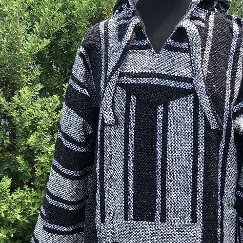 Gray Baja Pullover - Large