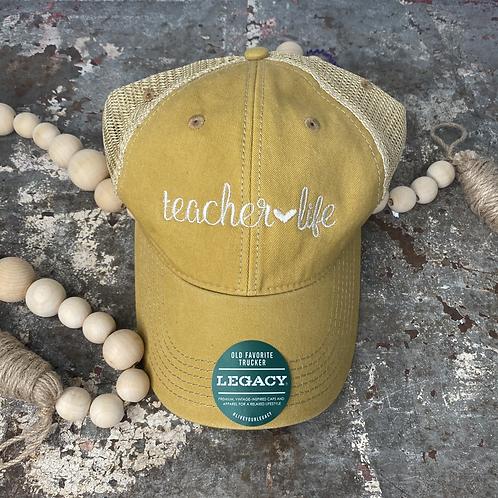 Teacher Life Cap
