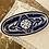 Thumbnail: Sobremesa Small Nigella Cobalt Oval Platter