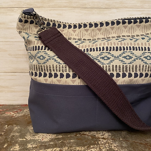 Tapestry Shoulder Tote