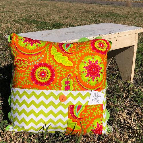 Wildflower Pocket Pillow