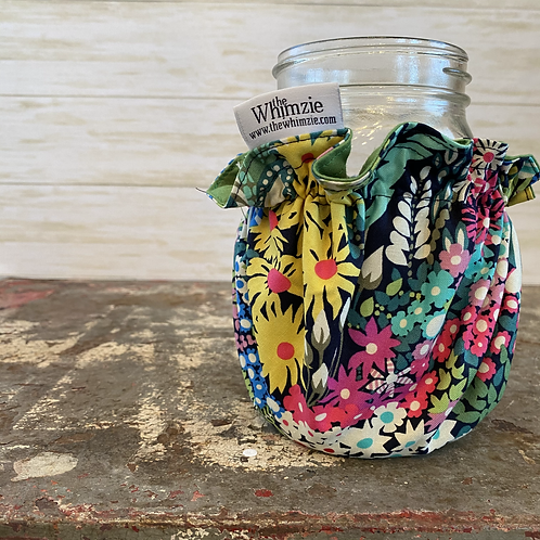 Bright Floral Whimzie L