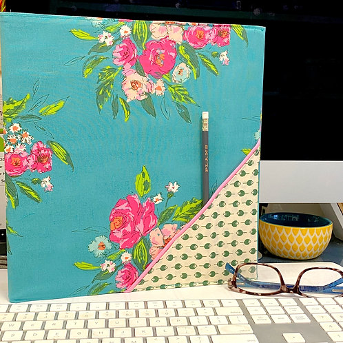 Binder Cover in Fancy Floral