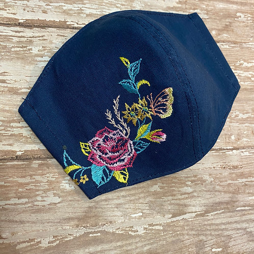 In Bloom Embroidered Face Mask