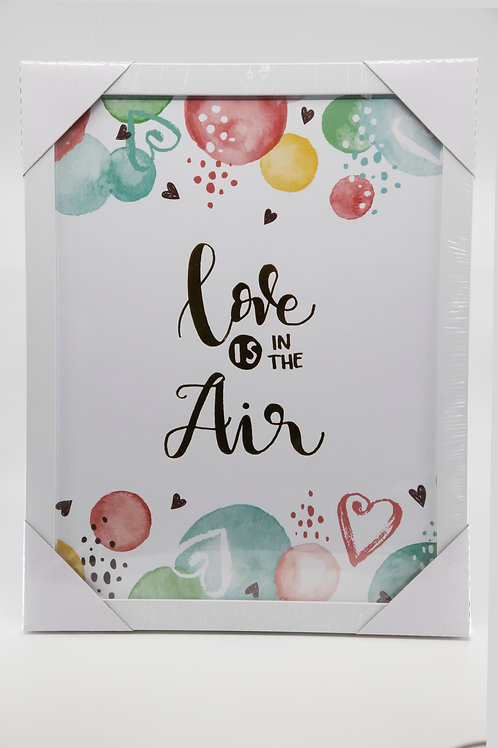 Cuadro Decorativo Love is in the air