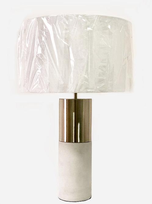 Lámpara de mesa – Concreto y Metal