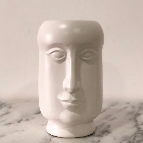 Jarrón grande de cerámica - Rostro