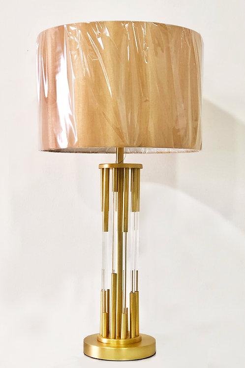 Lámpara de mesa – Metal y Vidrio