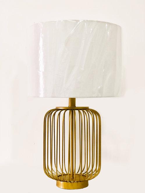Lámpara de mesa – Metal y Lino