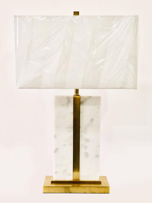 Lámpara de mesa – Mármol y Metal