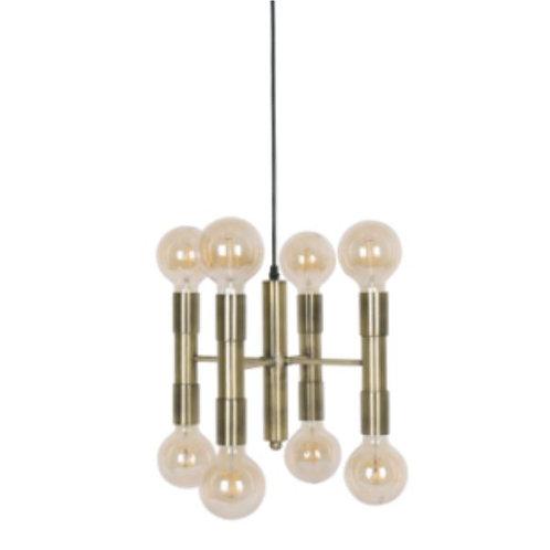 Lámpara colgante – Metal con 8 focos