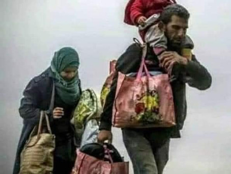 Searchers - Refugee Family