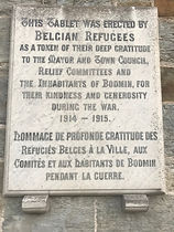 WC 13 Refugee Memorial Plaque Bodmin.jpg