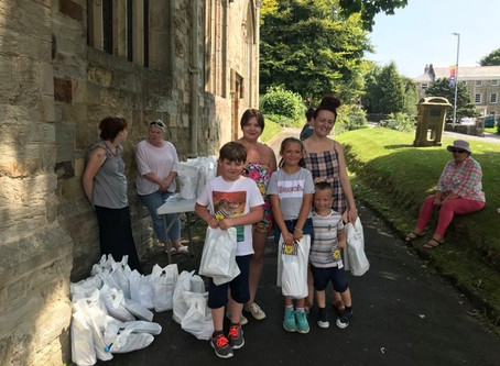 Fun Bags and Caterpillar Walk - St Petroc's Church Bodmin