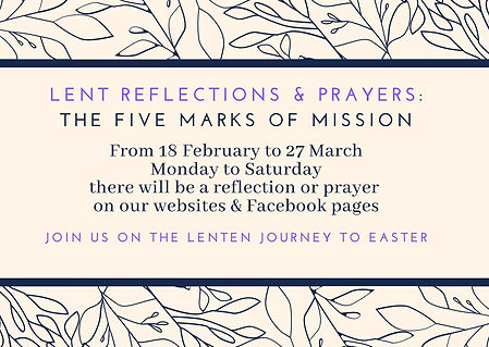 Lent reflections and prayers_ The five m