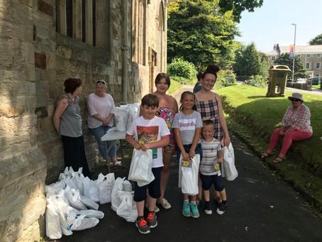 Fun Bags and Caterpillar Walk