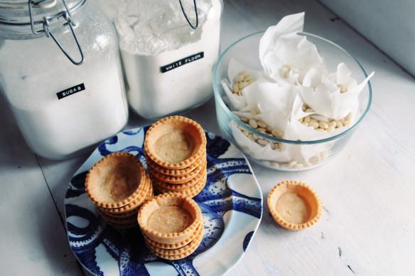 gluten-free pâte sucrée (sweet shortcrust pastry)