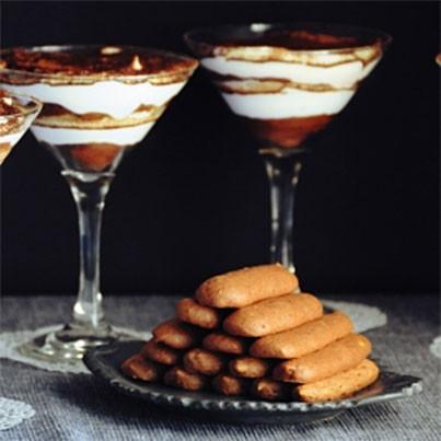 gluten-free chocolate lady fingers