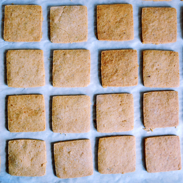 Gluten-free Shortbread Cookies - Rubik's Cube