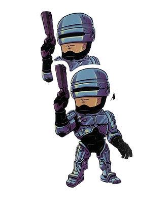 Robo Cop Sticker