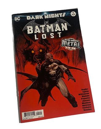 Batman Lost Metal Comic