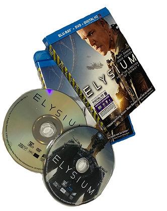 Elysium DVD & Bluray