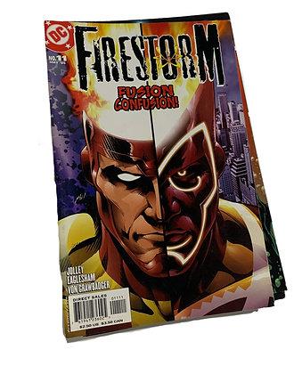 FireStorm Fusion Confusion Comic