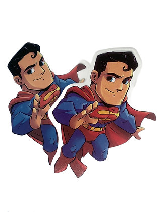 Chibi Superman Sticker