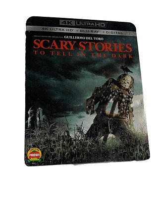 Scary Stories to tell in the Dark DVD & Bluray