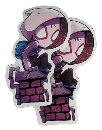 Gwen Spidey Sticker