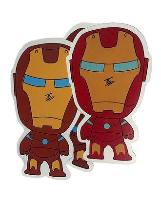 Chibi Iron Man Sticker