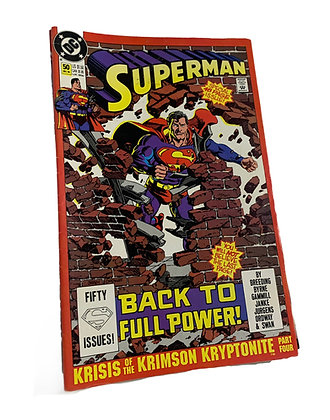 Superman Back to Full Power Comic
