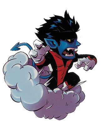 Nightcrawler X-Men Sticker