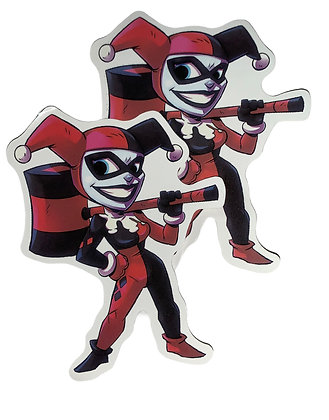 Harley Quinn Joker Sticker