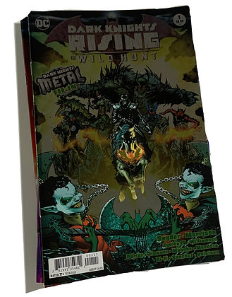 Dark Knight Risine Wild Hunt Comic