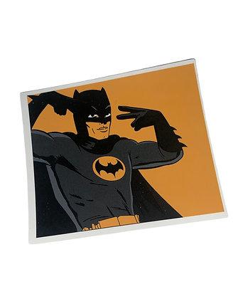 DC Batman Groovy Sticker