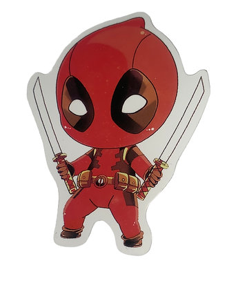 Chibi Deadpool Sticker