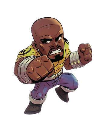 Luke Cage Sticker