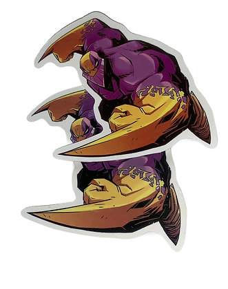 Villain Sticker