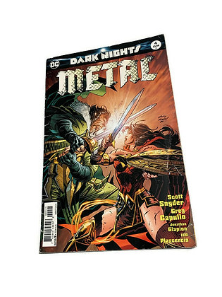 Dark Knight Metal 4 Comic