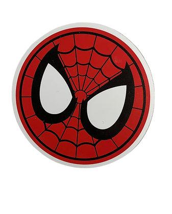 Spider Man up close Sticker
