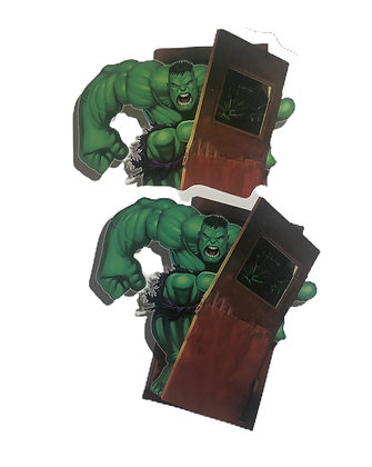 Hulk Smash Sticker